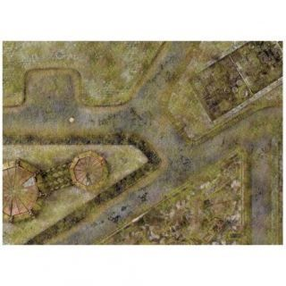 9ED 44'x60' Imperial City Jungle 1 Compatible with Warhammer, Warhammer 40K and other Wargames