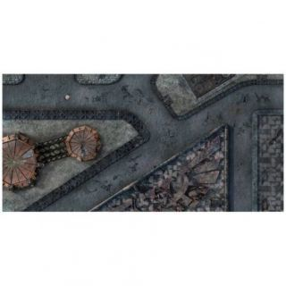 9ED 44'x90' Imperial City 1 Compatible with Warhammer, Warhammer 40K and other Wargames