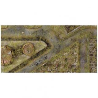 9ED 44'x90' Imperial City Jungle 1 Compatible with Warhammer, Warhammer 40K and other Wargames