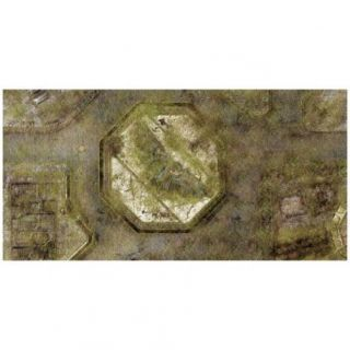 9ED 44'x90' Imperial City Jungle 2 Compatible with Warhammer, Warhammer 40K and other Wargames