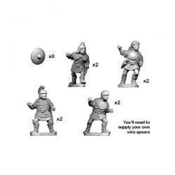 Lusitanian Warriors with Spears (8)