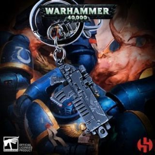 Bolter Metallic Finish Keychain