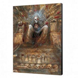 Emperor of Terra Wood Panel