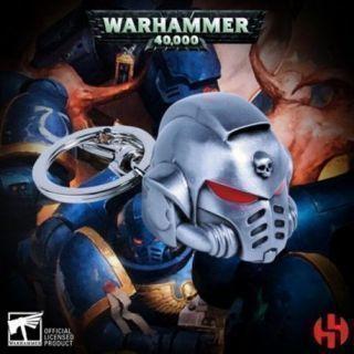 Primaris Space Marine Metal Helmet Keychain