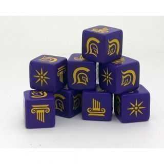 Age of Hannibal Greek Dice