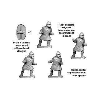 Unarmoured Citizen Spearmen (8)
