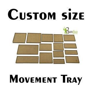 CUSTOM MDF BASES - FROM 71x71mm TO 250x250mm