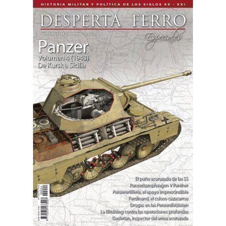 Especiales 24. Panzer volumen 4 (1943) De Kursk a Sicilia