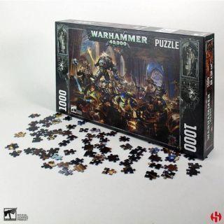 Gulliman vs Black Legion - Warhammer 40K Puzzle 1000pcs