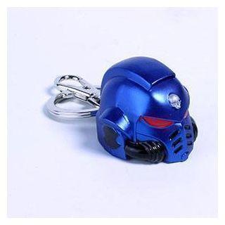 Primaris Space Marine Metal Helmet Keychain - Warhammer 40K