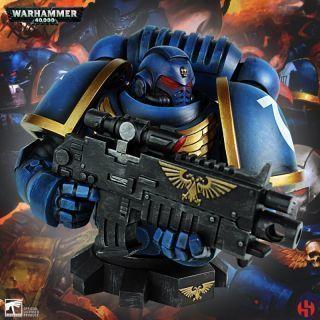 Primaris Ultra Marines Bust - Warhammer 40