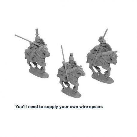 Unarmoured cavalry with spears (3)