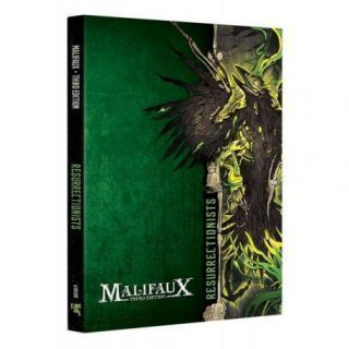 RESURRECTIONIST FACTION BOOK M3E