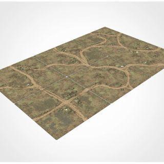Modular Wargrounds Playmat