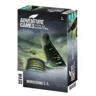 ADVENTURE GAMES: MONOCROMO SA