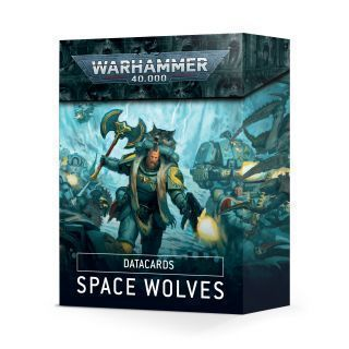 DATACARDS: SPACE WOLVES (ESPAÑOL)