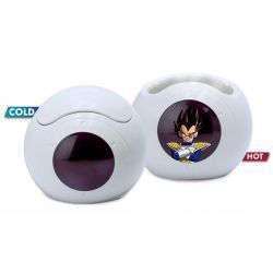 Taza 3D Térmica Dragon Ball Nave Vegeta