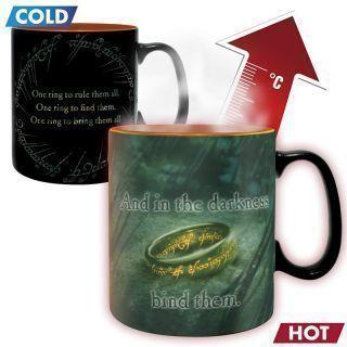 Taza Térmica Sauron El Señor de los Anillos 460 ml