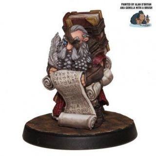 Dwarf Scribe Loremaster