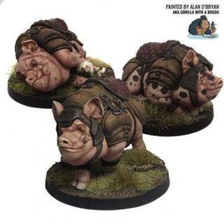 Hog Mounts (x3)