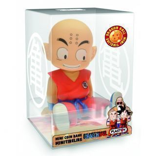 MINI HUCHA DRAGON BALL KRILIN SENTADO (13.5CMS)