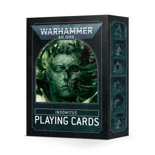 WARHAMMER 40000: INDOMITUS PLAYING CARDS