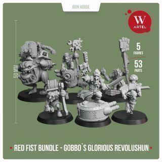 Red Fist Bundle - Gobb's Glorious Revolushun