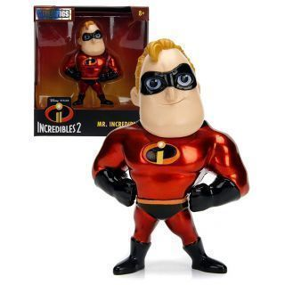 DISNEY METALFIGS FIGURA DIECAST MR. INCREDIBLE 10 CM