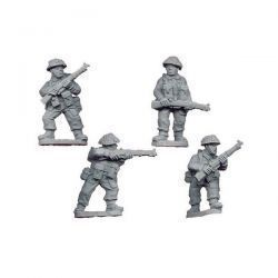 Late British Riflemen II (4 figs)