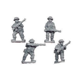 Late British Riflemen II (4 figs)