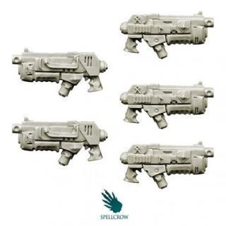 Wolves Knights Combined Plasma Core Guns