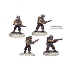 US Infantry Riflemen I (4 figs)