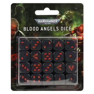 BLOOD ANGELS DICE SET
