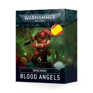 DATACARDS: BLOOD ANGELS (ESPAÑOL)