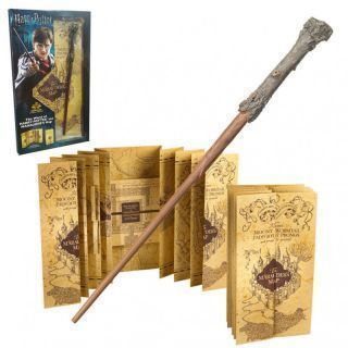 Set Varita + Mapa del Merodeador Harry Potter