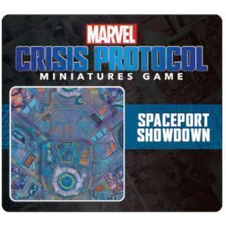 CRISIS PROTOCOL SPACEPORT SHOWDOWN GAME MAT EN