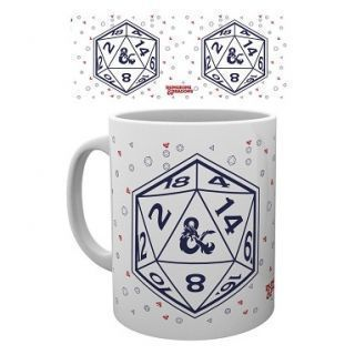 TAZA DUNGEONS & DRAGONS D20