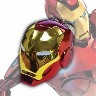 CASCO IRON MAN LLAVERO METALICO MARVEL