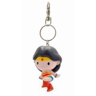 WONDER WOMAN CHIBI LLAVERO PVC JUSTICE LEAGUE DC COMICS