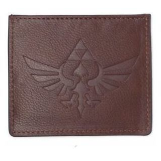 BILLETERA PARA TARJETAS CUERO. THE LEGEND OF ZELDA