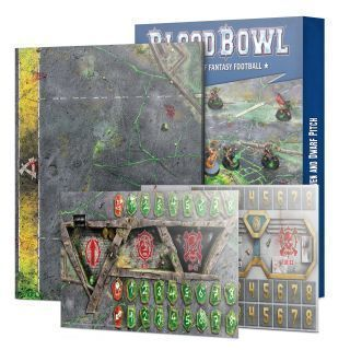 BLOOD BOWL: SKAVEN AND DWARF PITCH
