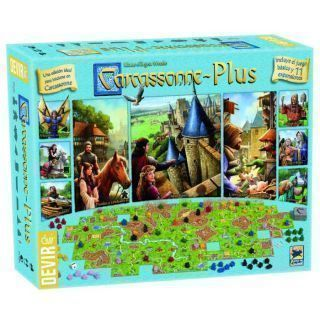 Carcasonne Plus, juego básico + 11 expansiones