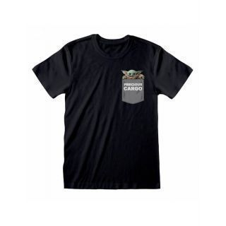 Camiseta Star Wars The Mandalorian: Precious Cargo Pocket -Talla S