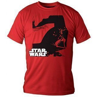 Star Wars Camiseta Darth Vader rojo Talla L