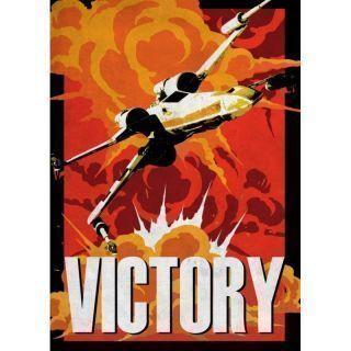 Displate - STAR WARS / Galactic Propaganda 04 - Victory