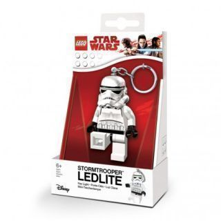 LEGO STAR WARS ILUMINADO LLAVERO STORMTROOPER 6 CM