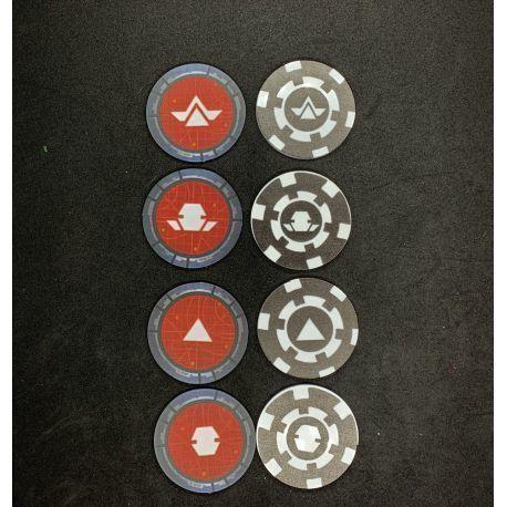 Ficha Custom de Orden compatible con SW Legion