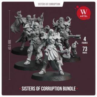 Sisters of Corruption Bundle (4 miniatures)