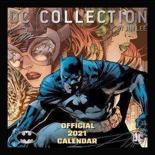 Batman 2021 Calendar - Official Square Wall Format Calendar