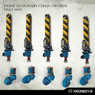 Prime Legionaries CCW Arms: Chain Swords [right] (5)